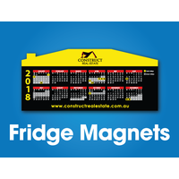 250 x House Shape Fridge Magnets - 170x75mm - 0.6mm