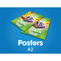 200 x A2 Posters - 150gsm gloss